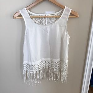 *SALE* White tank top from monteau